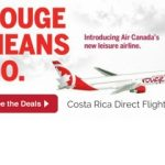 Air Canada Flies Direct to Costa Rica