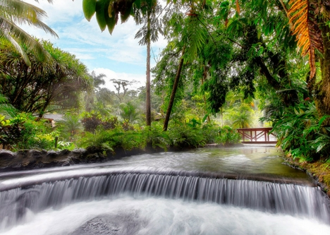 Explore La Fortuna Hot Springs and Hotels, Costa Rica