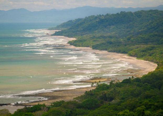 Explore Malpais Costa Rica Beach Map