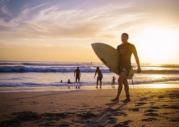 Explore Playa Guiones Surf Guide Costa Rica