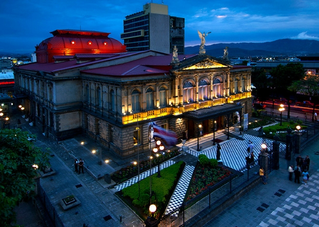 Explore San Jose Opera House, Costa Rica