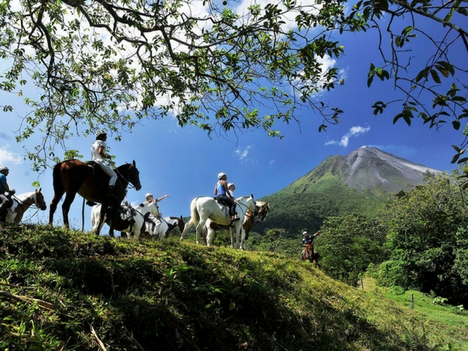 Explore La Fortuna Horse Tours, Costa Rica
