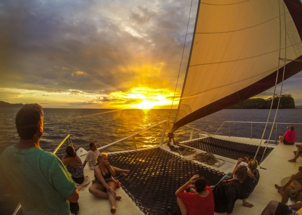 Explore Playa Coco Sailboat Sunset Tours Costa Rica